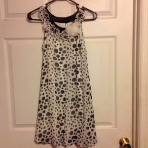 RARE EDITIONS Summer Polka Dot Party Dress-NWOT